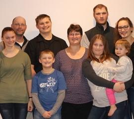 Alex Cumming's family
