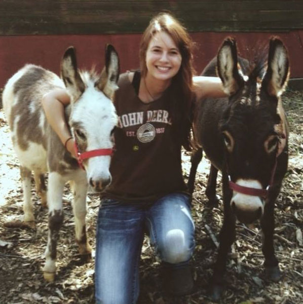 haley and her donkeys