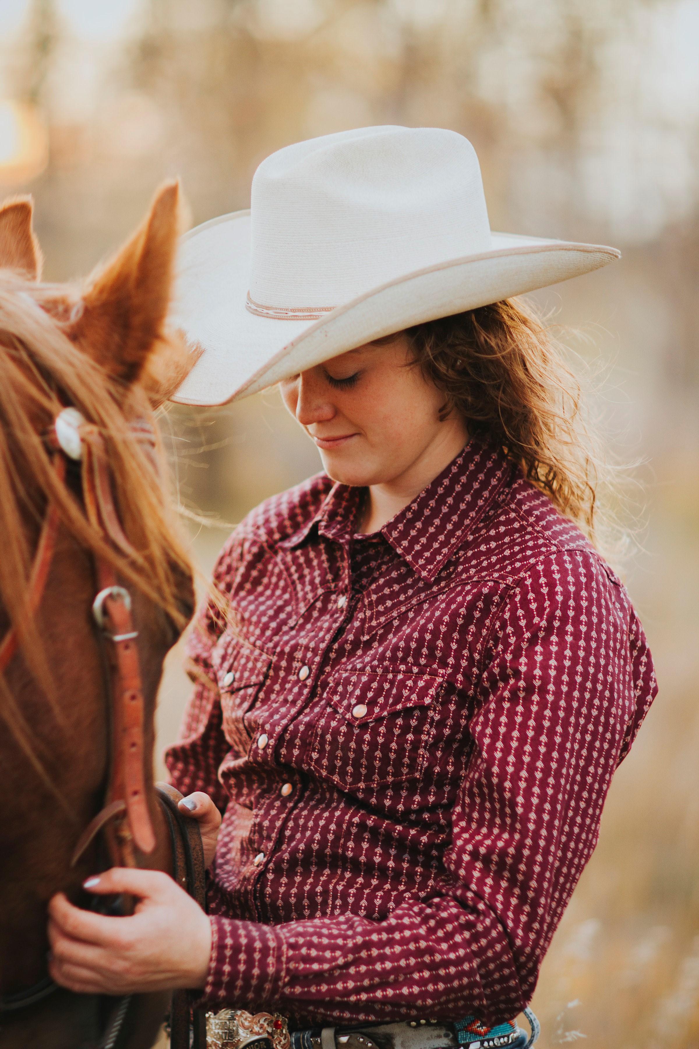 Shaye with horse