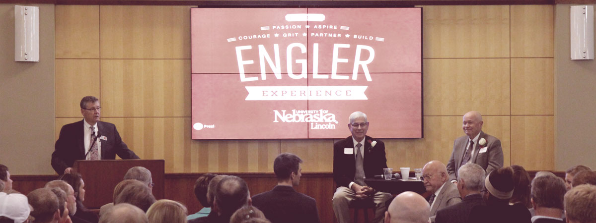 The Engler Lecture Series